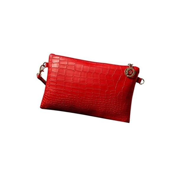 416Zo3Fh8mL. SS600  - Toamen Bolsos De Hombro De Crossbody, Bolso De Cocodrilo De La Moda De Las Mujeres