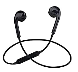 Tronomy BluetoothSweat-Proof Earphones for Apple iPhone 7, 6s, 6 Series (Black)