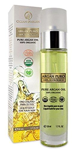 Aceite de argán puro 100% orgánico de OCEAN D'ARGÁN