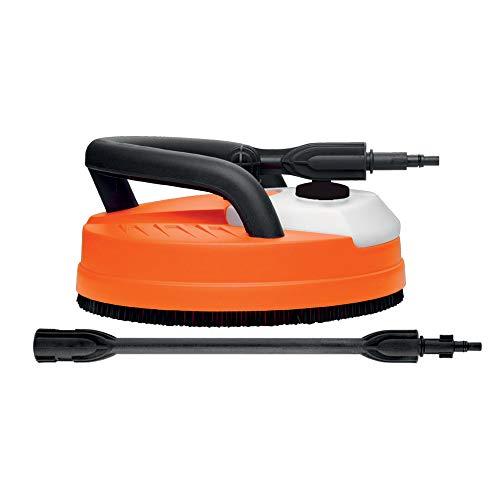 Black+decker patio cleaner deluxe - accessorio lavasuperfici per idropulitrici, arancio, serbatoio detergente