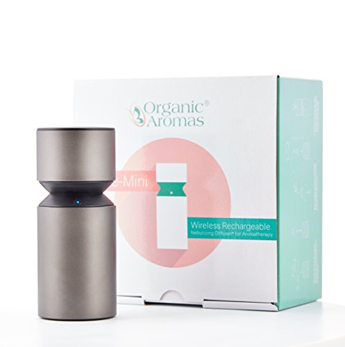 Mobile-Mini Wireless Rechargeable Nebulizing Diffuser® for Aromatherapy by Organic Aromas®