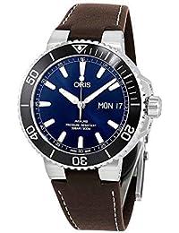 7aada7bfed2df Oris Aquis Big Day Date Automatic Blue Dial Mens Watch 01 752 7733 4135-07