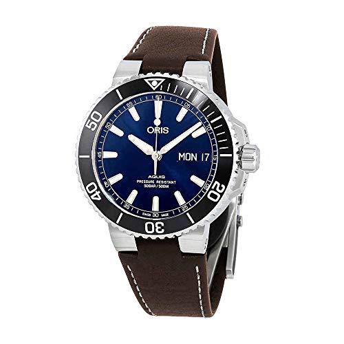 Oris Aquis Big Day Date Automatic Blue Dial Mens Watch 01 752 7733 4135-07 5 24 10EB