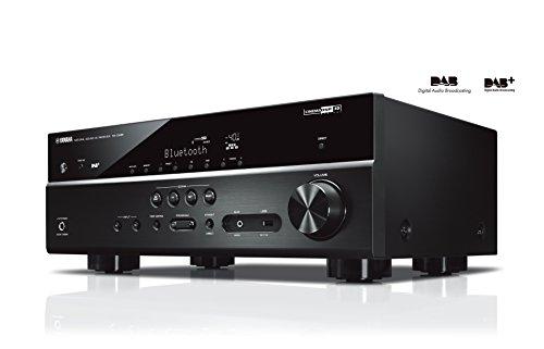 """Yamaha RX-D485 BLACK """"5.1 MusicCast"""" AV-Receiver mit Wi-Fi, Bluetooth und DAB Tuner, Schwarz"""
