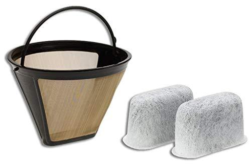 t Kaffeemaschine, GTF Goldton Filter und 2 Kohlewasserfilter ()