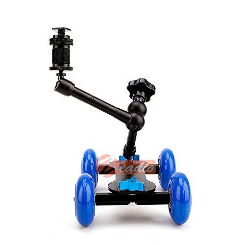 Zoom IMG-3 zeadio carrello pattinatore con tavola