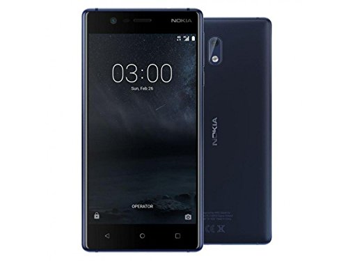Nokia 3 (Tempered Blue, 16 GB) (2 GB RAM)