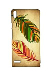 VDESI Designer Matte Back Cover For Huawei Ascend P6-21550151