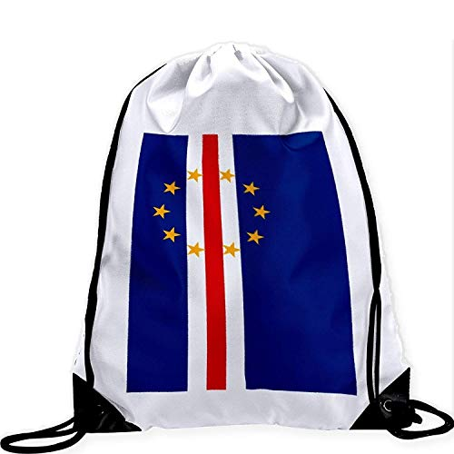 Stolz Cape - YuYfashions Large Drawstring Bag with Flag