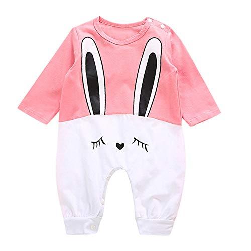 Babykleidung Satz, LANSKIRT Neugeborenes Baby Mädchen Jungen Kaninchen Print Strampler Overall Lässige Outfits Kleidung 0-24 Monate -