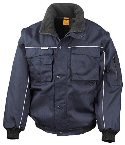 RT71 Workguard Heavy Duty Jacke Arbeitsjacke winddicht wasserabweisend, Farbe:Navy-Navy;Größen:XXL XXL,Navy-Navy