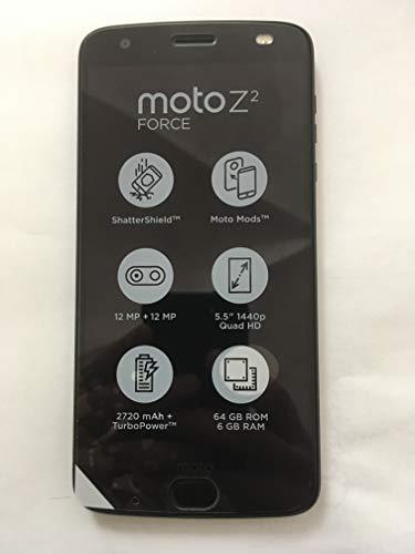 Foto Motorola Moto Z2 Force Smartphone, Marchio Tim, 64 GB, Nero [Italia]
