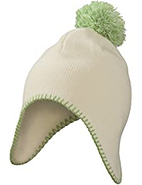 MB Pompom Hat - Knitted Cap with Ear Flaps - 7 Colours (MB7938)