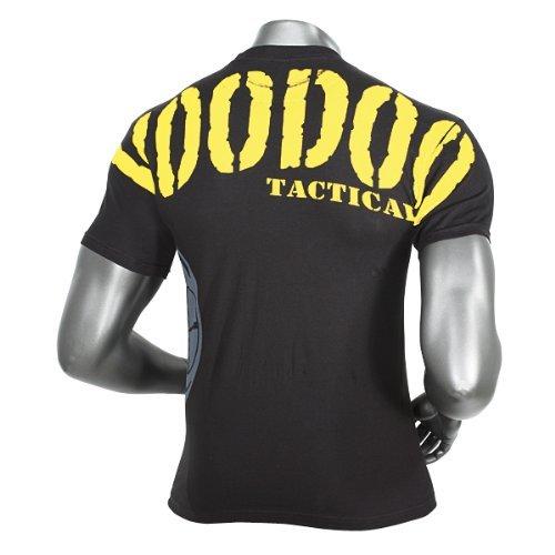 Voodoo Tactical Herren Intimidator T-Shirt XL Black/Yellow Letters
