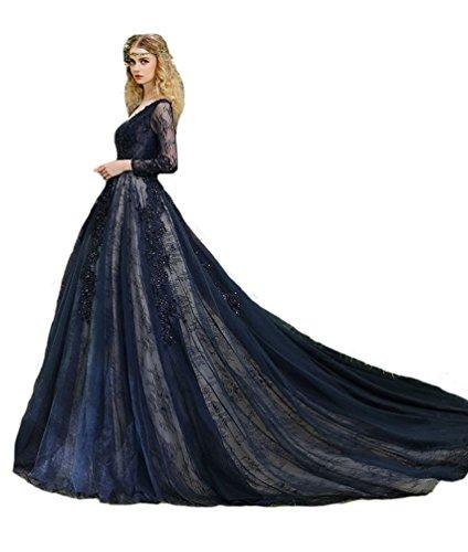 Engerla Damen Kleid Gr. 30, marineblau