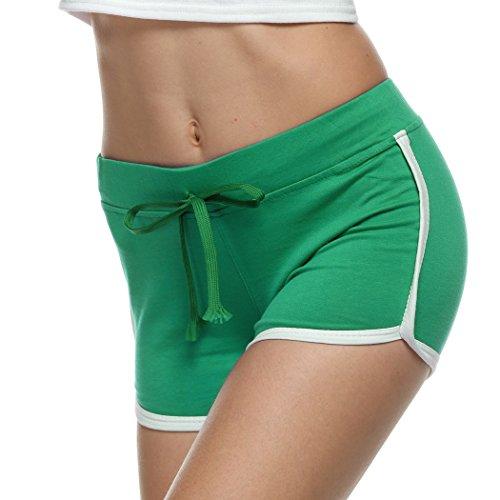 Bluetime - Short - Femme green