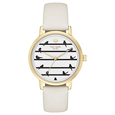 Kate Spade Reloj analogico para Mujer de Cuarzo con Correa en Tela KSW1043 de Kate Spade