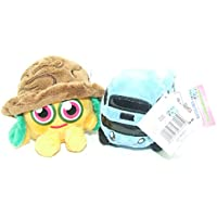 Moshi Monsters Soft Plush Toys - Moshlings Collection Twin Pack - Nutmeg & Busling - Incs Online Secret Code