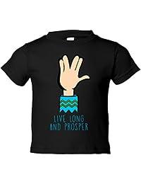 Camiseta Niño Star Trek Live Long and Prosper gesto con la mano