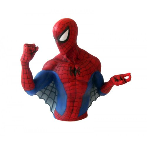 Marvel The Amazing Spider-man Bust Money Bank Picture