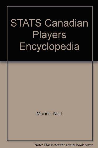 Stats Canadian Players Encyclopedia por Neil Munro