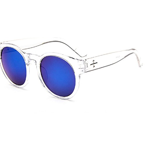 O-C Damen Sonnenbrille Blau Blau