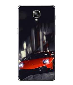PrintVisa Designer Back Case Cover for OnePlus 3 :: OnePlus Three :: One Plus 3 (Speed Dirt Racing)