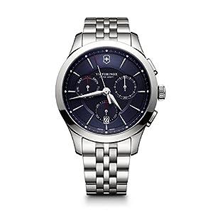 Victorinox Hombre Alliance – Reloj de Acero Inoxidable de Cuarzo