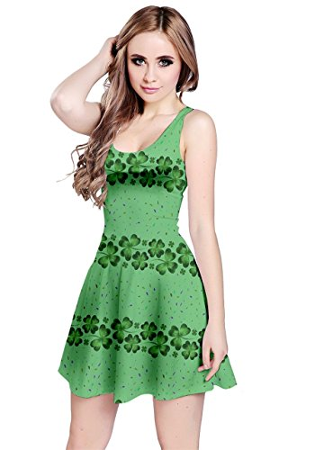CowCow - Robe - Femme Colourful Gems Light Forest Green