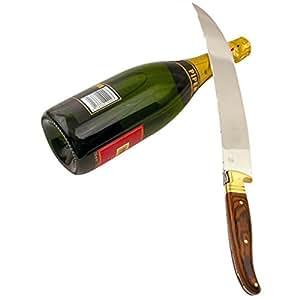 LAGUIOLE - Sabre à champagne - bois pakka