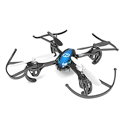 Holy Stone Drone with Camera Live Video Mini RC Helicopter Drone HS170 Predator 2.4Ghz 6-Axis Gyro 4 Channels Quadcopter Good Choice for Drone Training by Holy Stone