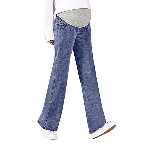 Bolawoo abbigliamento premaman da donna jeans de marca strappati gravidanza mode pantaloni maternità elasticizzati pantaloni pantaloni attillati con elastico belly locker pantaloni lunghi casual