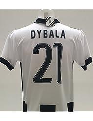 Camiseta Jersey Futbol Juventus Paulo Dybala 21 Replica Autorizado (12 años)