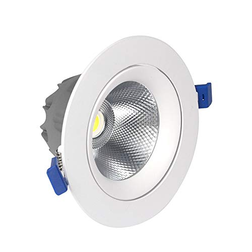 Wapipey 5 watt / 10 watt / 18 watt aluminium cob led runde downlight deckeneinbau spot licht ultra slim energiesparende panel licht innenbeleuchtung für home office kommerzielle beleuchtung ac 110-240 - Deckeneinbau-downlight