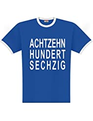 World of Football 1860 achtzehnhundertsechzig T-Shirt