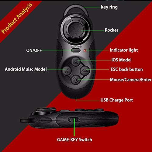 Morza MOCUTE 032 VR Brille Drahtlose Bluetooth-Fernbedienung VR Gamepad Joystick PC Joypad Schwarz