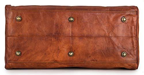 Berliner Bags Oslo XL Reisetasche aus Leder Weekender - 6