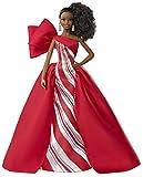 Barbie- Magia delle Feste 2019 Bambola Afroamericana con Coda da Collezione, Giocattolo per Bambini 6+ Anni, Multicolore, FXF02