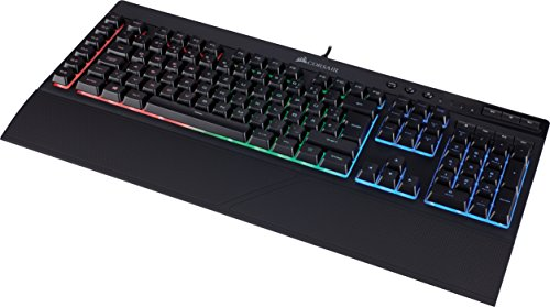 Corsair K55 Gaming Tastatur (Multi-Color RGB Beleuchtung, QWERTZ) schwarz - 3