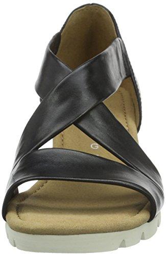 GaborGabor Comfort - Sandali Donna Nero (Schwarz (57 schwarz))