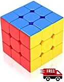 #4: Toykart Premium Stickerless - 3X3X3 Speed Cube, Multi Color