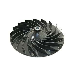 Flymo 5771723011 Roue de Ventilateur pour Tondeuse à Gazon XL500/XL550