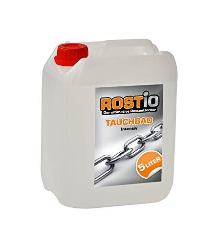 Rostio Tauchbad Intensiv 5 Liter Rostumwandler Rostentferner Rostlöser Entroster - Auto KFZ Motorrad Boot UVM.