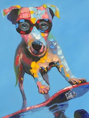 Sky God Wand Kunst Inkjet impressionistische Ölgemälde Europäische Tier dekorative Malerei ohne Rahmen