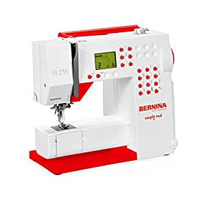 """Bernina 215 special edition simply red """""""