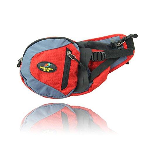ZC&J Outdoor-Sporttaschen, multifunktionale tragbare Taschen, verschleißfeste praktische, verstellbare Gürtel, Männer und Frauen Universal-Modetaschen A