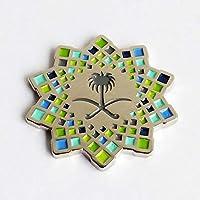 Saudi Vision 2030 pins