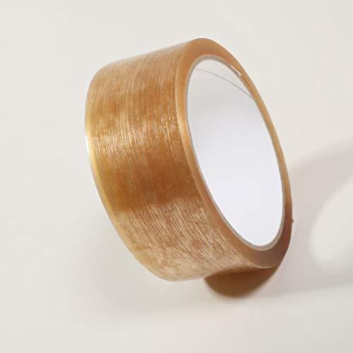 108 Rollen. Klebeband. 50mm x 50m. Eco-Kautschuk. Transparent-gelblich. Packband. Paketband. Paketklebeband. Verpackungsband. Band.