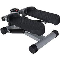 Preisvergleich für Carsge Stepper mit Multifunktions-Display Drehstepper & Sidestepper Hometrainer inkl. Trainingsbändern