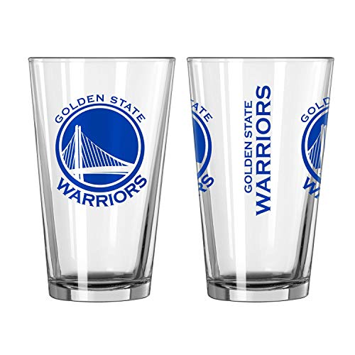 Warriors Gameday NBA Pint Glas (470 ml) ()
